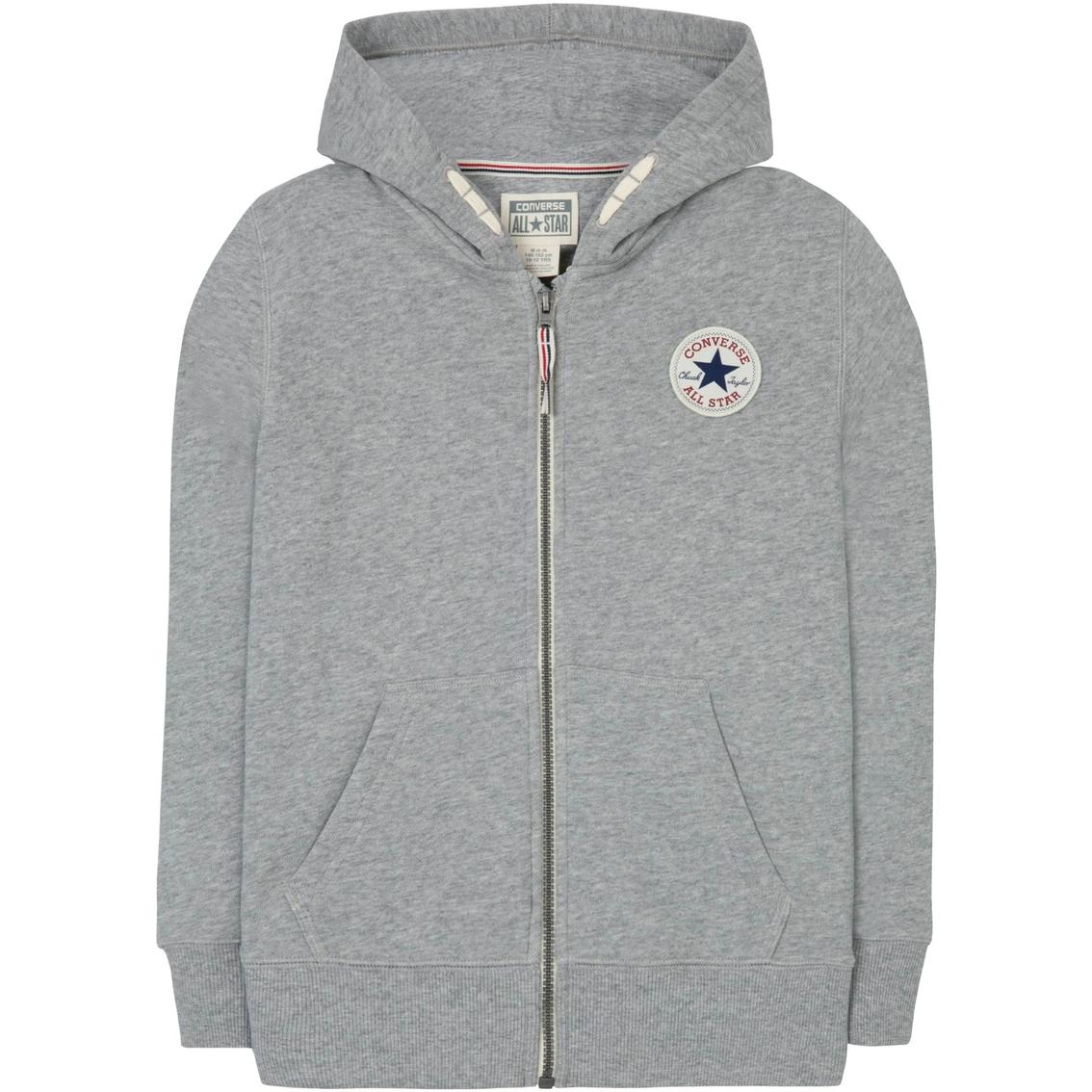converse core zip hoodie