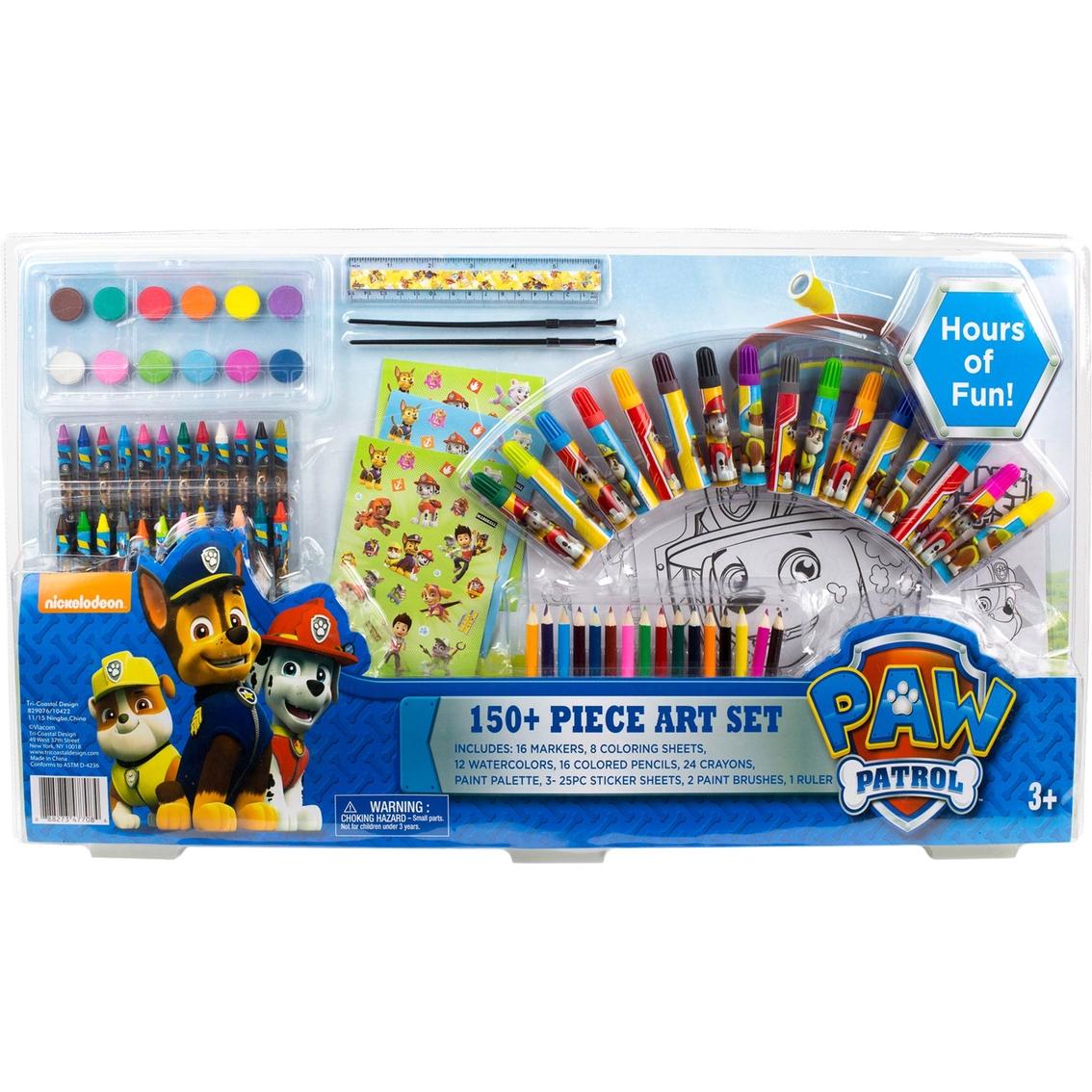Nickelodeon Paw Patrol Art Set 150 Pc Drawing