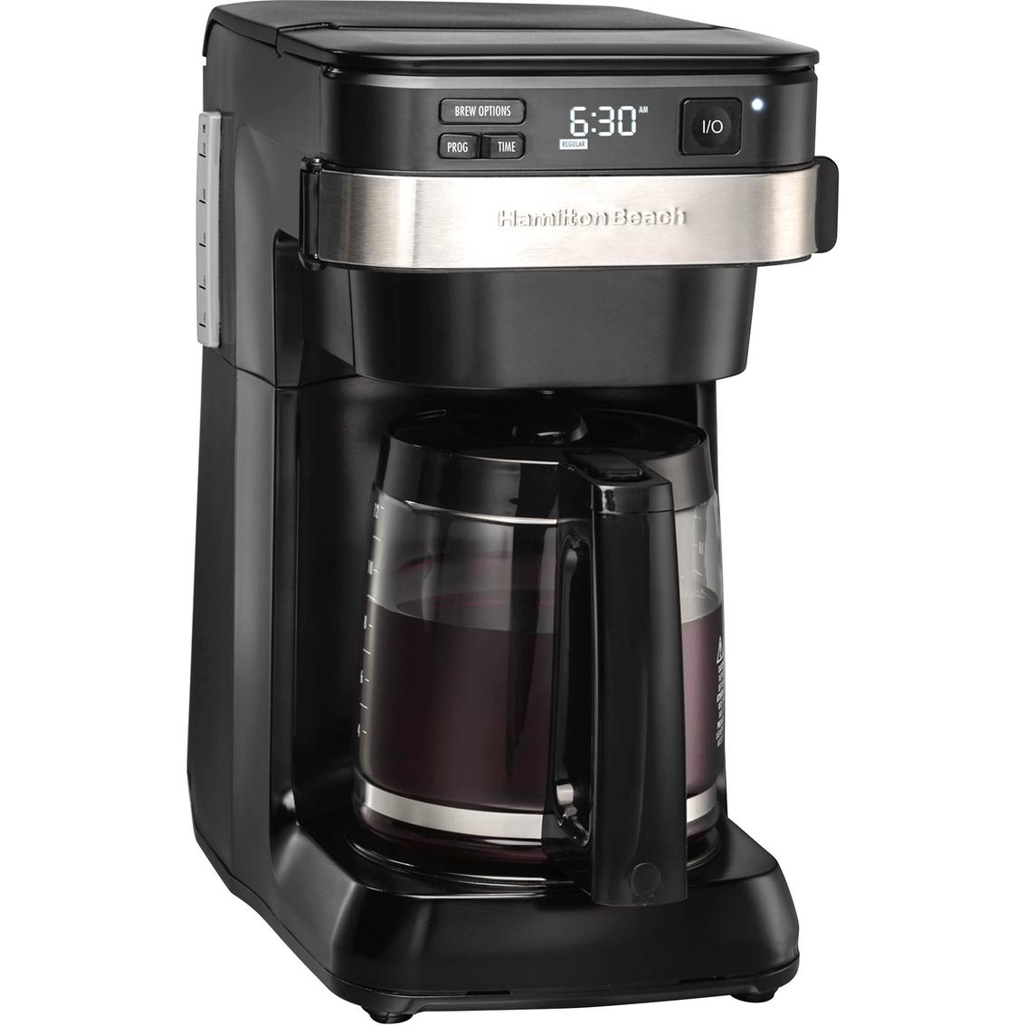 Best Drip Coffee Maker Programmable : Hamilton Beach Programmable Easy Access Coffee Maker Drip Coffeemakers Home & Appliances ...