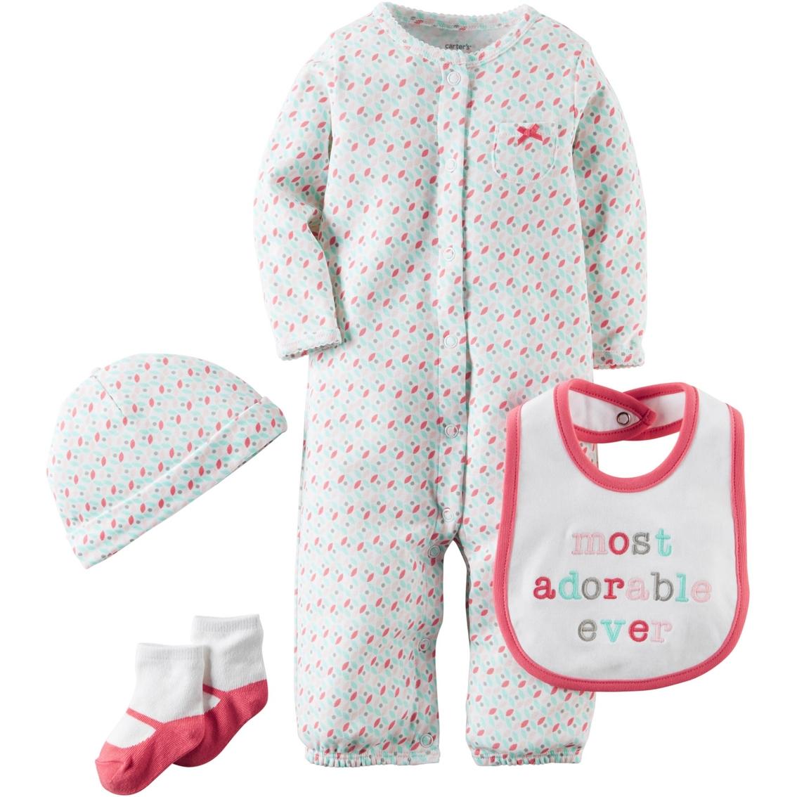 fbfa27838 Carter s Preemie Girls Geo Take Me Home 4 Pc. Set