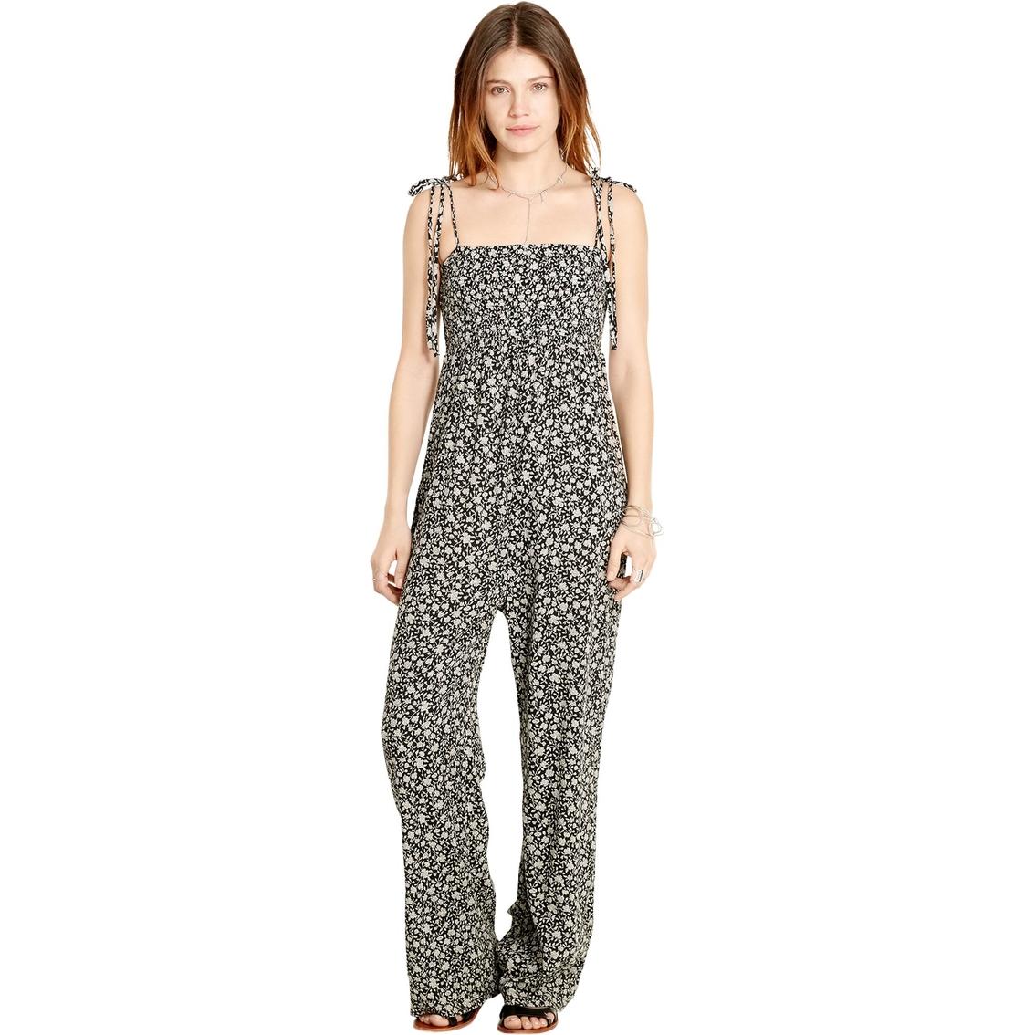 dc45250208 Denim & Supply Ralph Lauren Floral Smocked Bodice Jumpsuit | Women ...