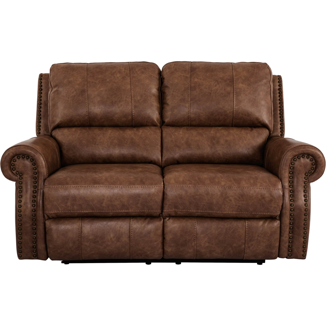 Xpress motion by bassett norwood loveseat with power for Furniture xpress