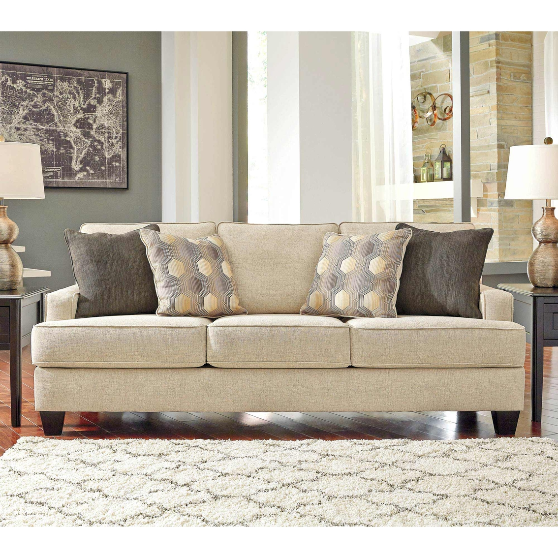 Benchcraft Sofas Vandive Sofa By Benchcraft From Www