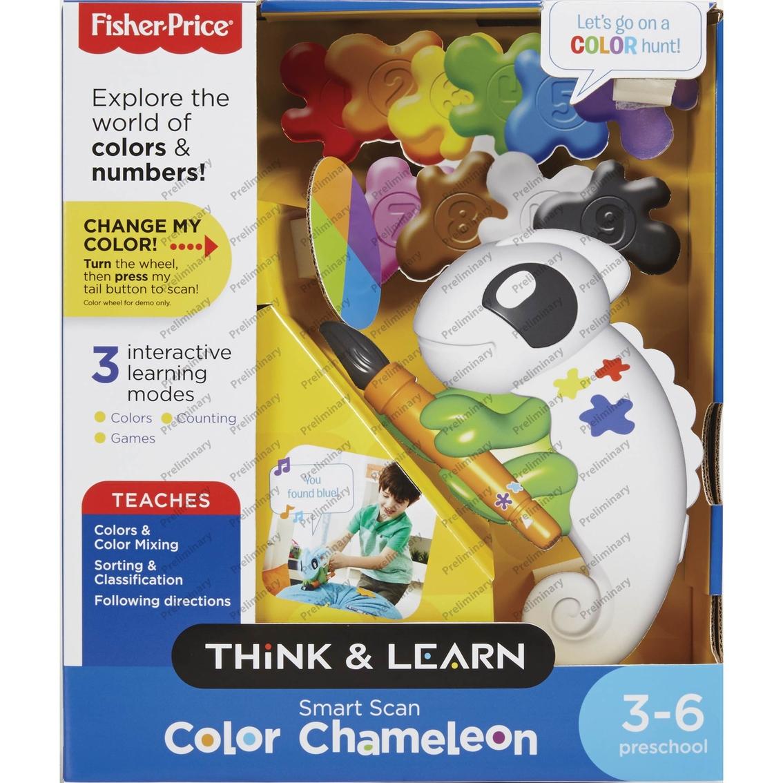 Fisher price smart scan color chameleon fine motor skills baby 2201 buycottarizona
