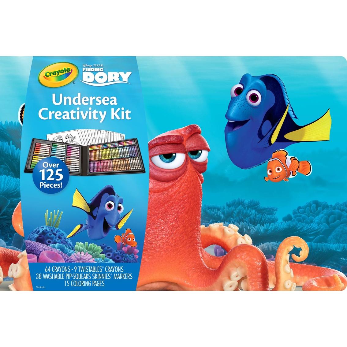 Crayola 125 Pc. Finding Dory Undersea Creativity Kit   Kids\' Crafts ...