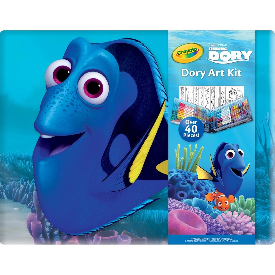 Crayola 40 Pc. Finding Dory Art Kit   Kids\' Crafts   Baby & Toys ...