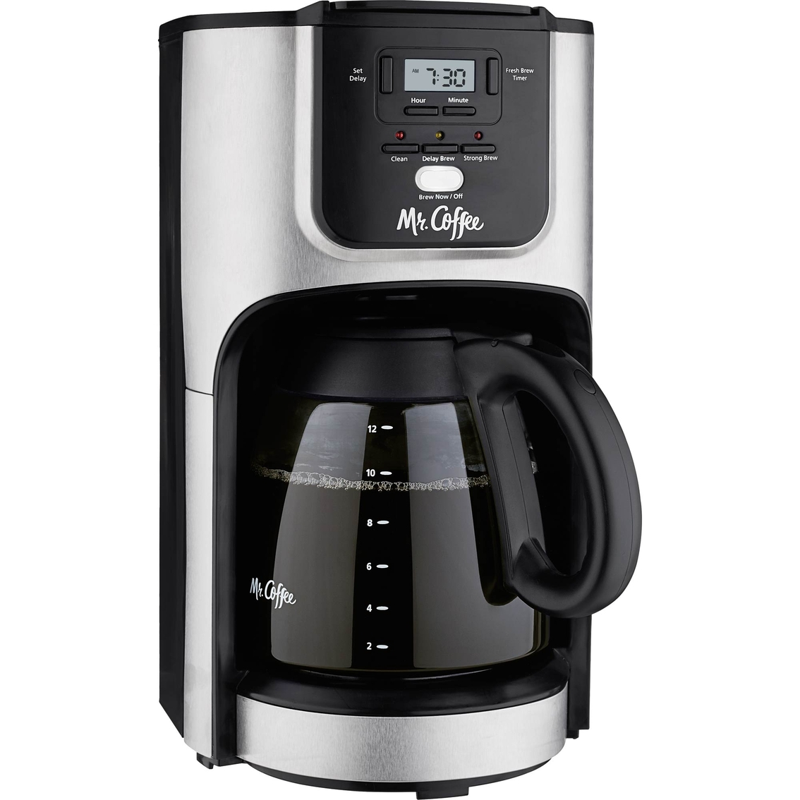 Mr. Coffee 12 Cup Programmable Coffee Maker Drip Coffeemakers Home & Appliances Shop The ...