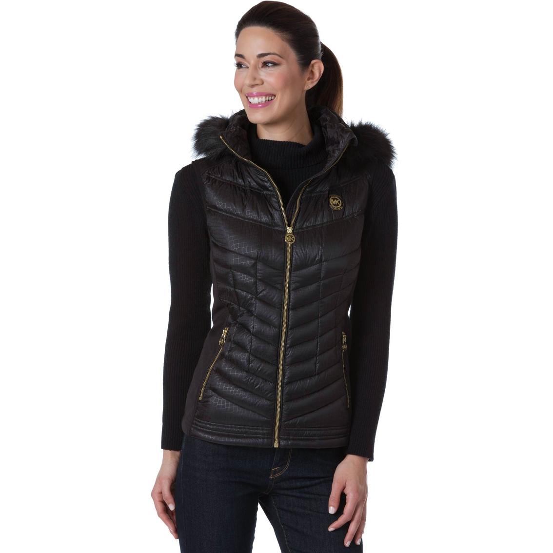 425fede5d466d7 Michael Kors Hooded Vest | Apparel | Shop The Exchange