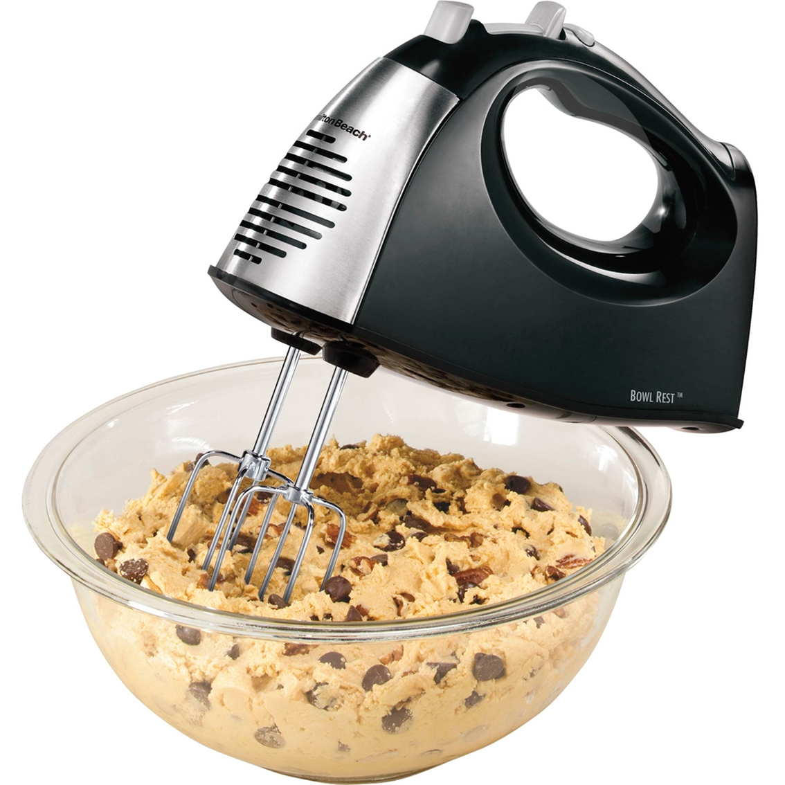 Hand Held Mixers With Attachments ~ Hamilton beach speed hand mixer with quickburst