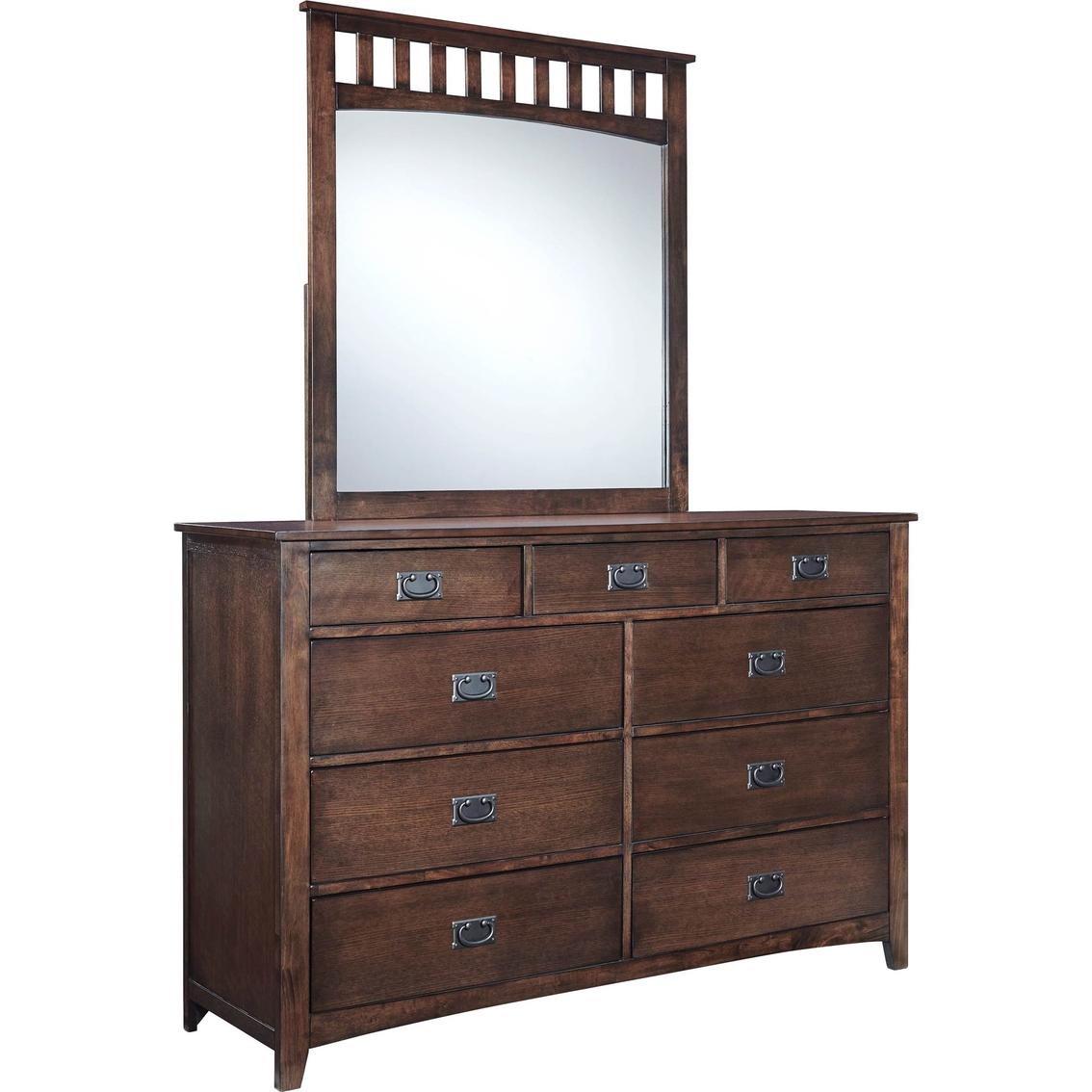 Ashley strenton dresser and mirror dressers home for 12 inch depth dresser