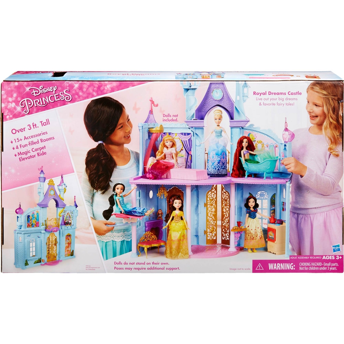 Hasbro Disney Princess Royal Dreams Castle 21 Pc Set