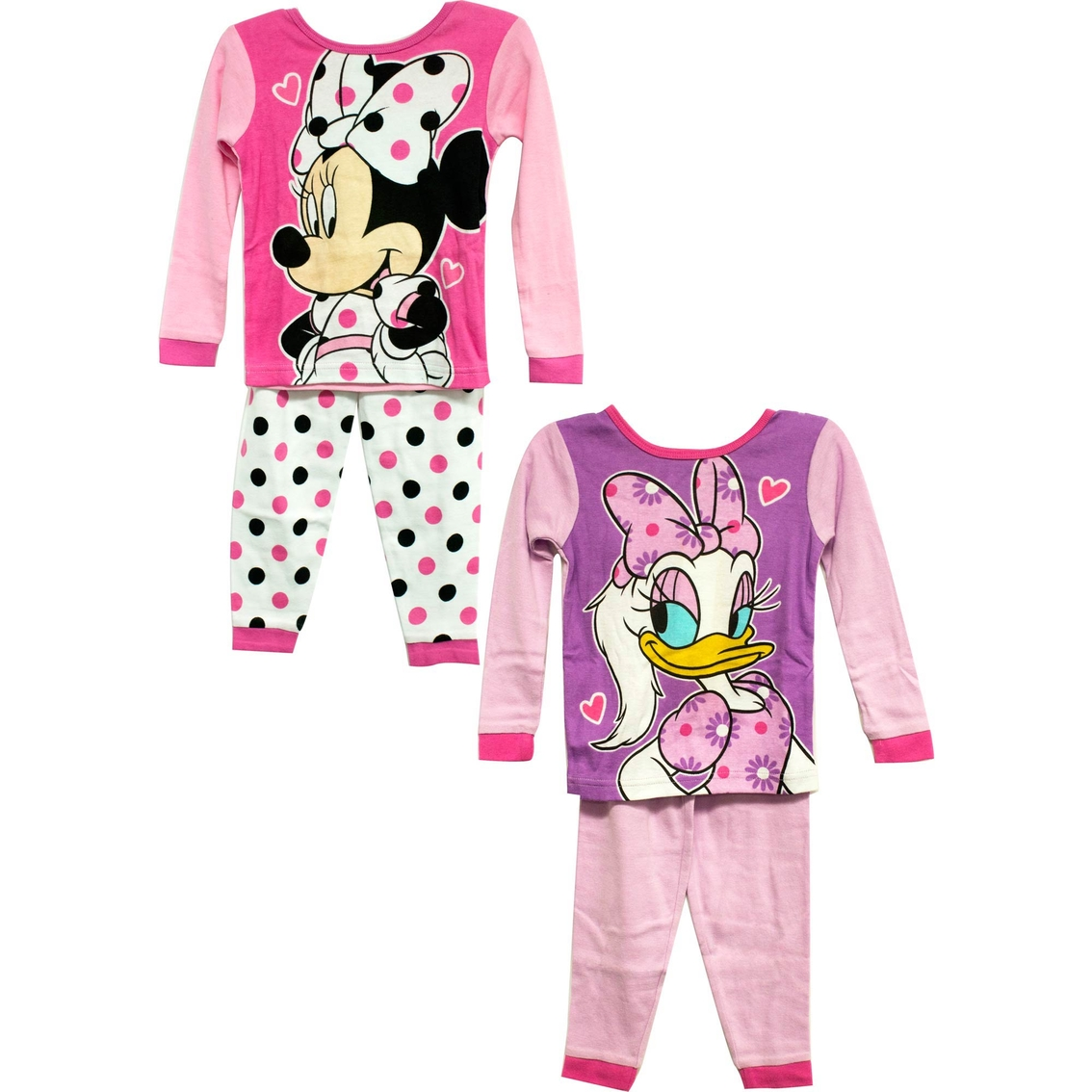 8f80c903b Disney Toddler Girls 4 Pc. Minnie Daisy Pajama Set