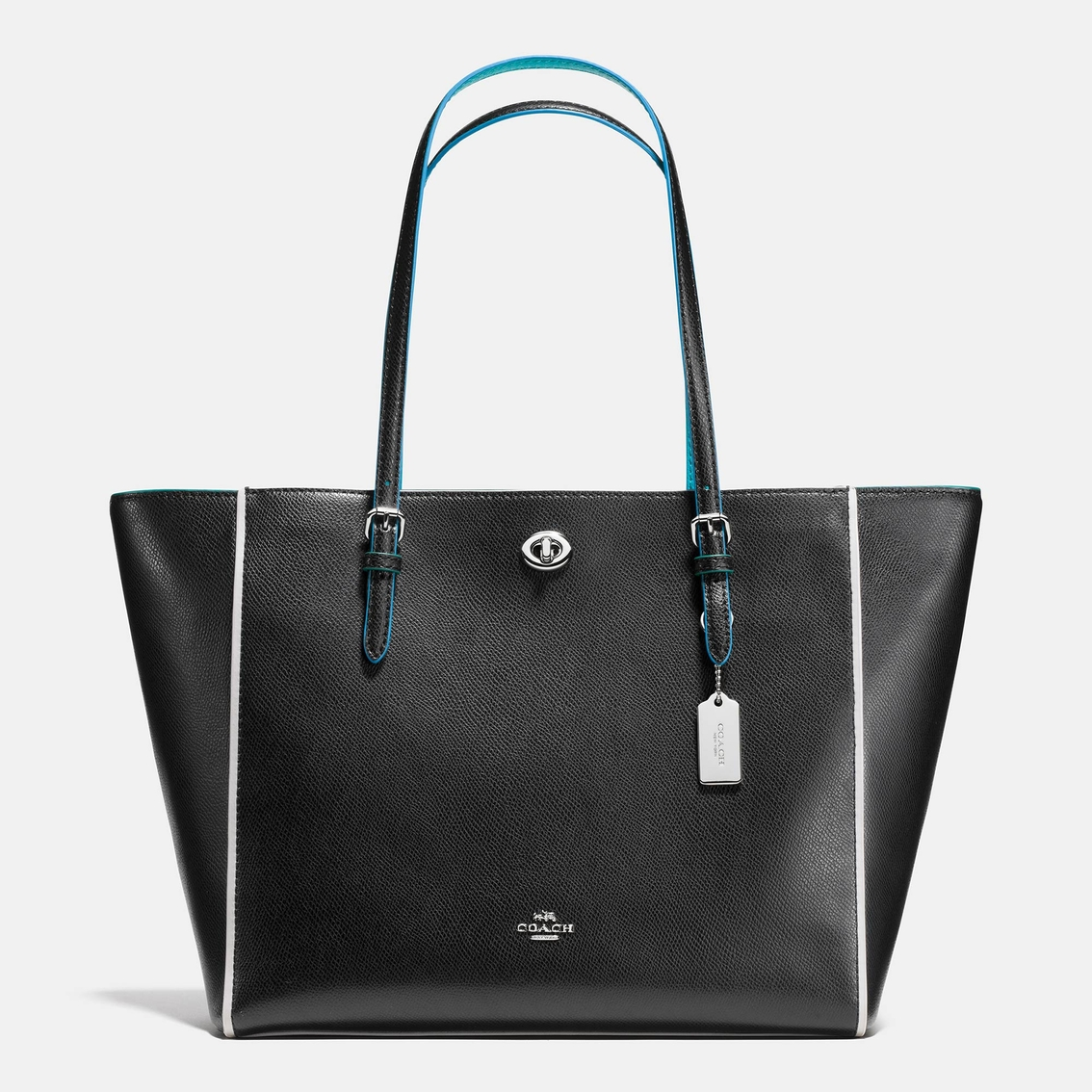 Coach Turnlock Tote In Edgestain Leather | Totes & Shoppers | Handbags