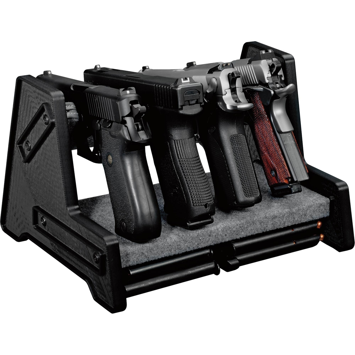 Stack On Deluxe 4 Position Pistol Rack Safes Sports