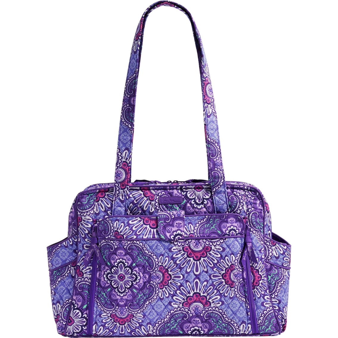 vera bradley stroll around baby bag lilac tapestry diaper bags accessories baby toys. Black Bedroom Furniture Sets. Home Design Ideas