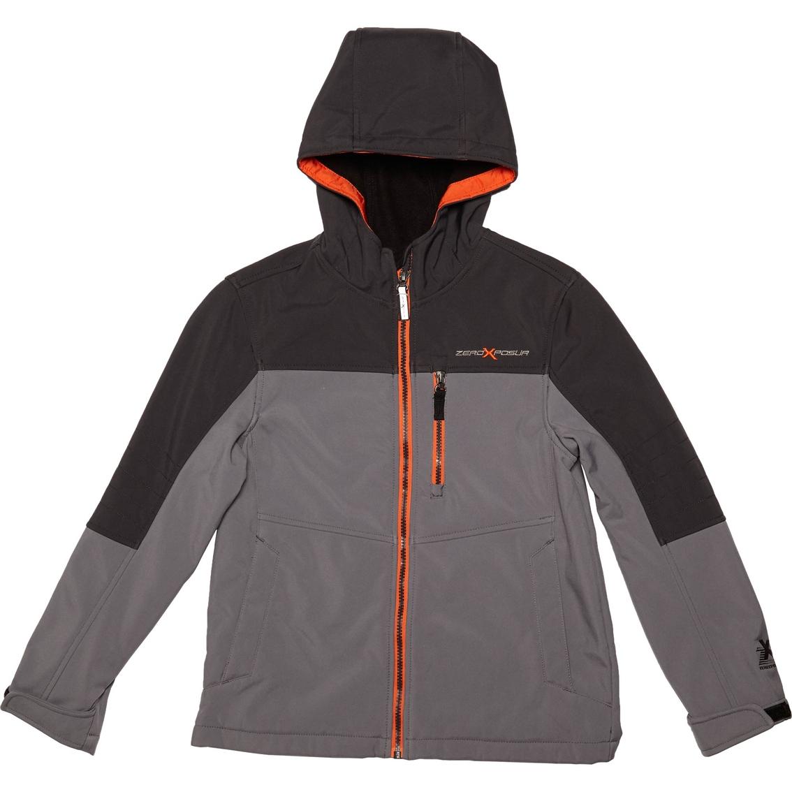 8427aded706f Zero Xposur Boys Landslide Softshell Jacket