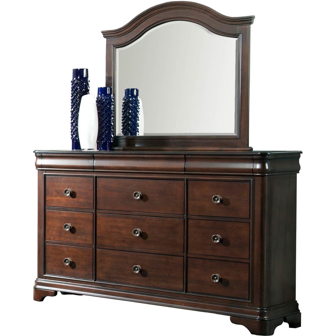 Elements cameron dresser and mirror set dressers home appliances shop the exchange Elements cameron bedroom set
