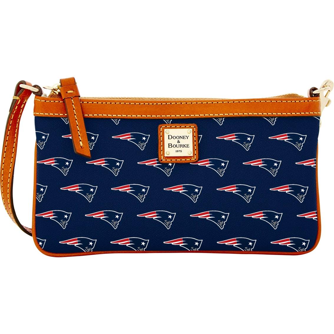 Dooney Amp Bourke Nfl New England Patriots Wristlet