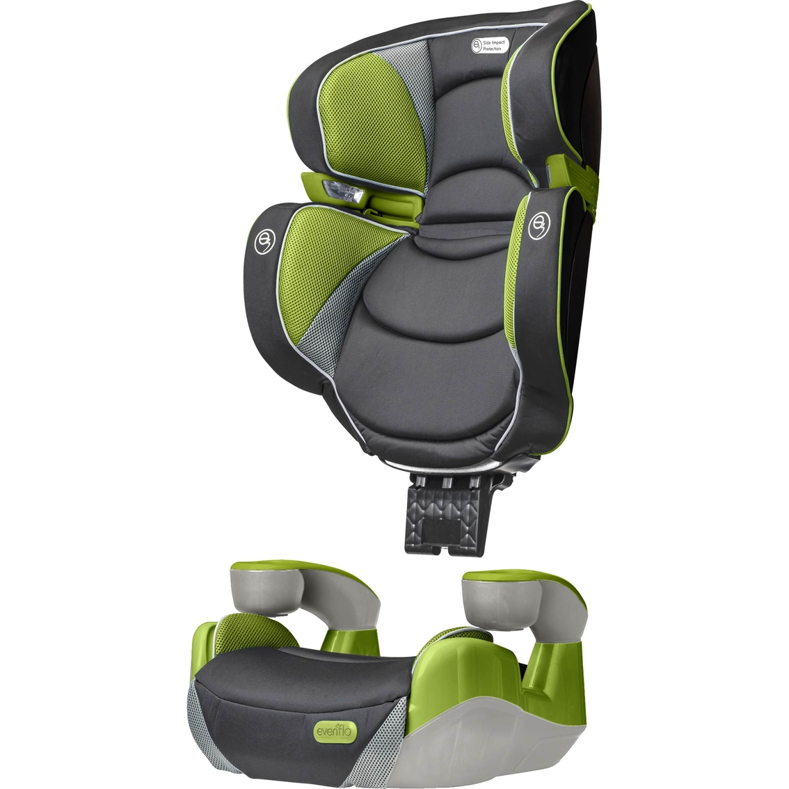 evenflo rightfit booster car seat car booster seats baby toys shop the exchange. Black Bedroom Furniture Sets. Home Design Ideas