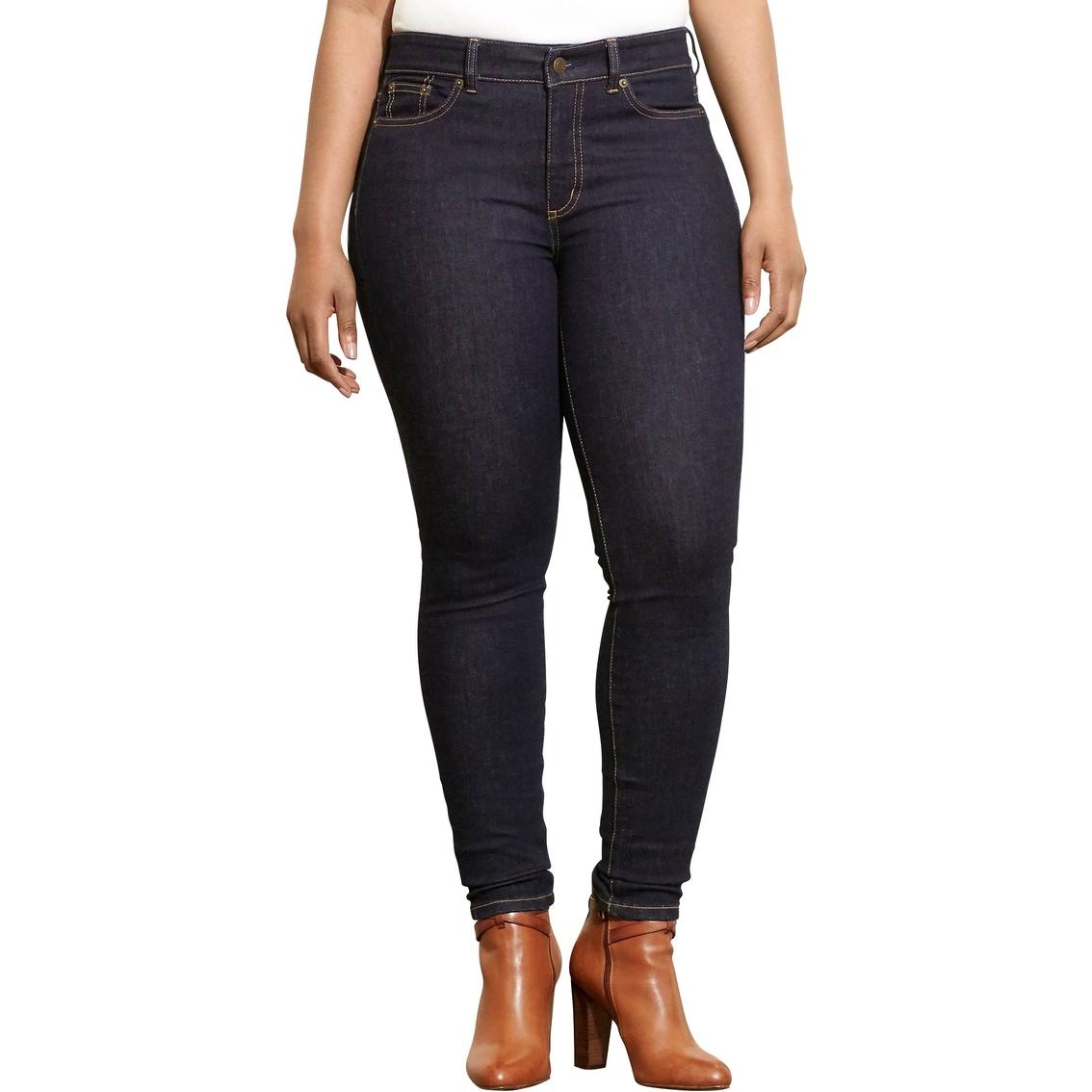 Lauren Ralph Lauren Plus Size Premier Stretch Skinny Jeans | Jeans