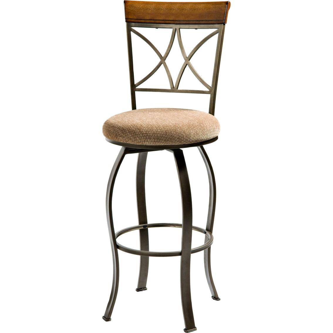 Powell Hamilton Swivel Bar Stool Dining Seating Home