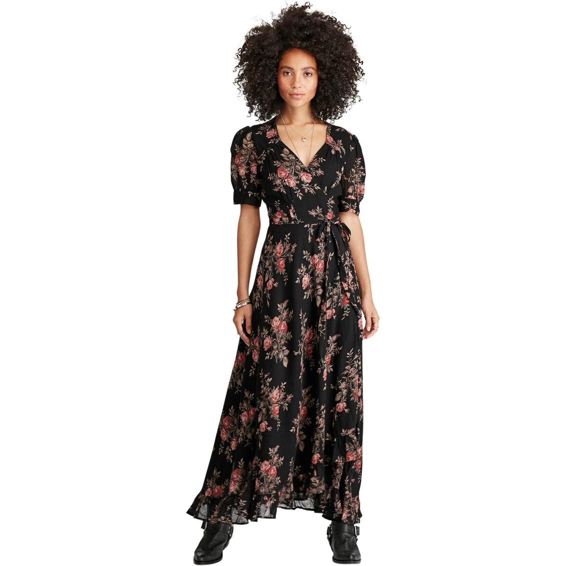 1469d81a06 Denim   Supply Ralph Lauren Floral Print Gauze Wrap Maxidress ...