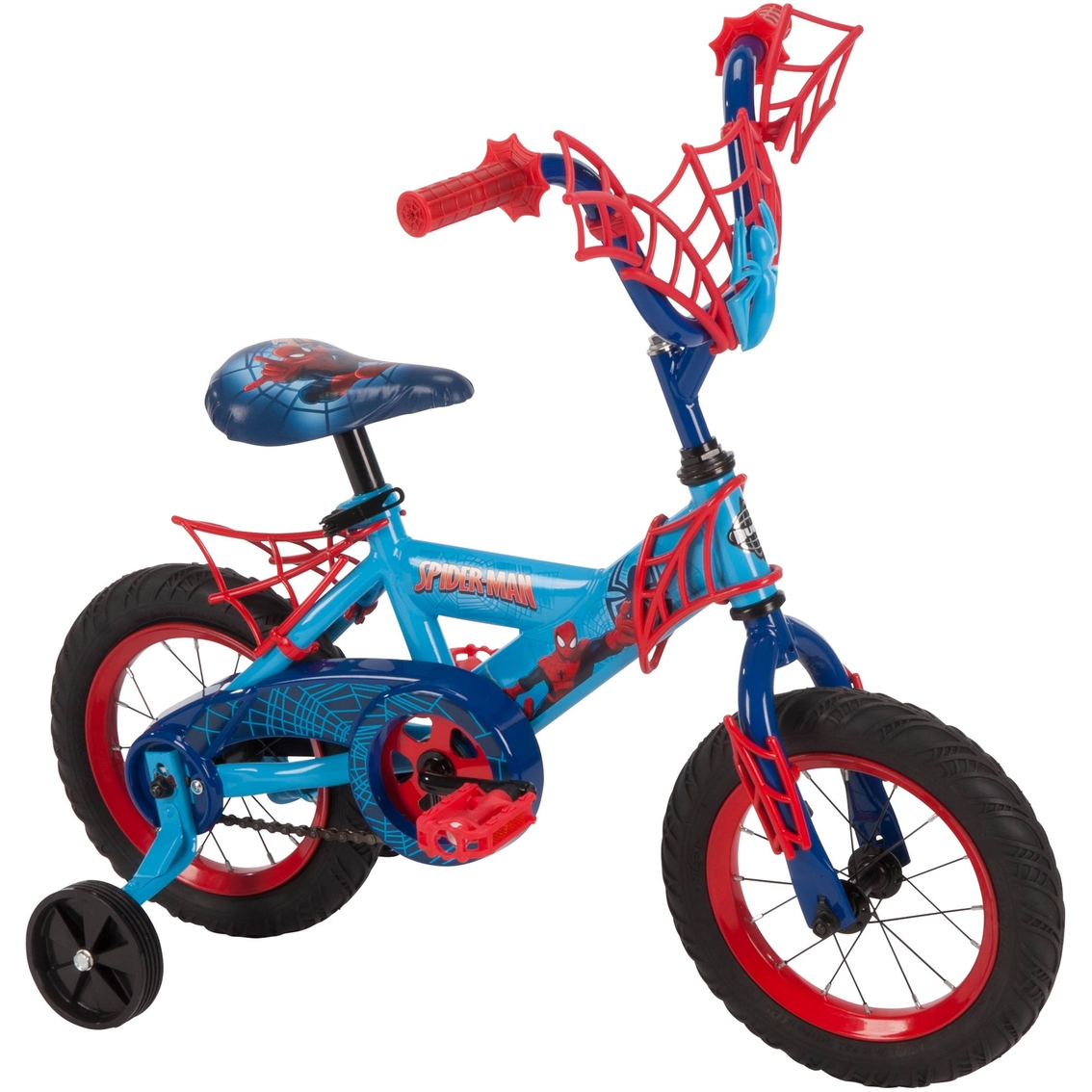 Huffy Spider Man 12 In Bike Kids Bikes Sports Outdoors