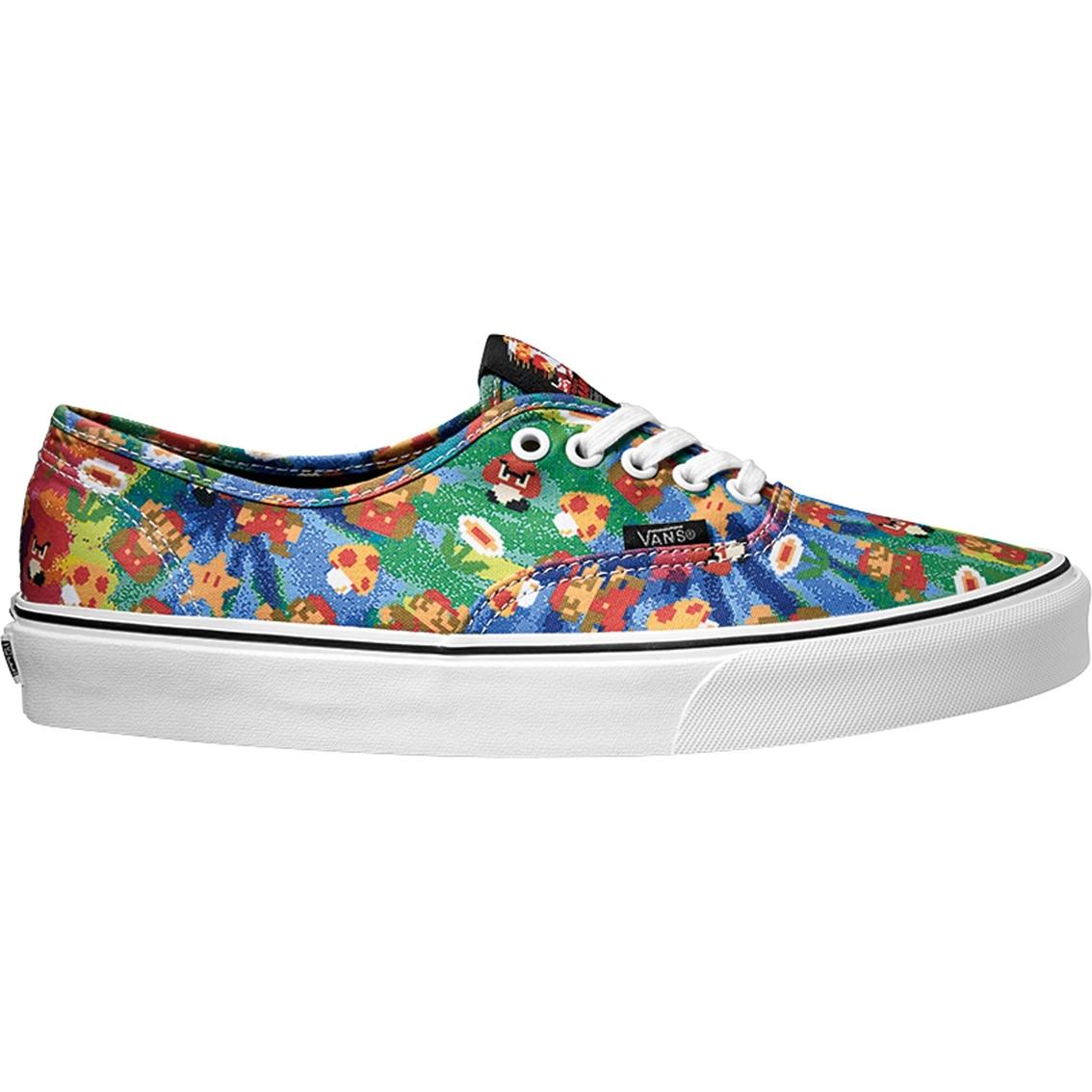 wyglądają dobrze wyprzedaż buty taniej sklep w Wielkiej Brytanii Vans Men's Nintendo Authentic Shoes, Super Mario Brothers ...