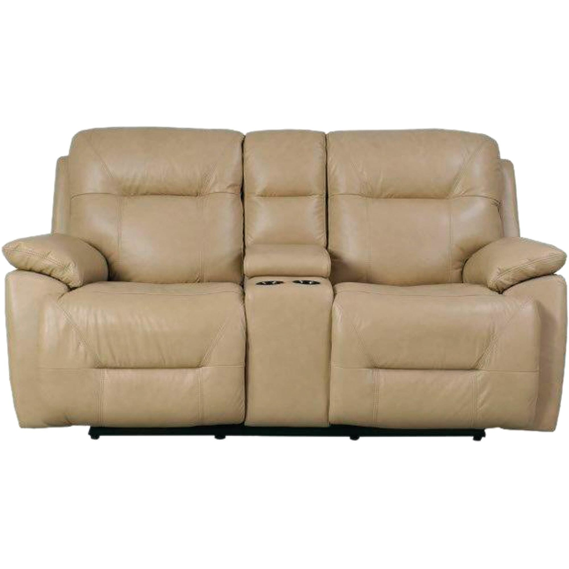 Bassett Furniture Epic Power Motion Loveseat With Console