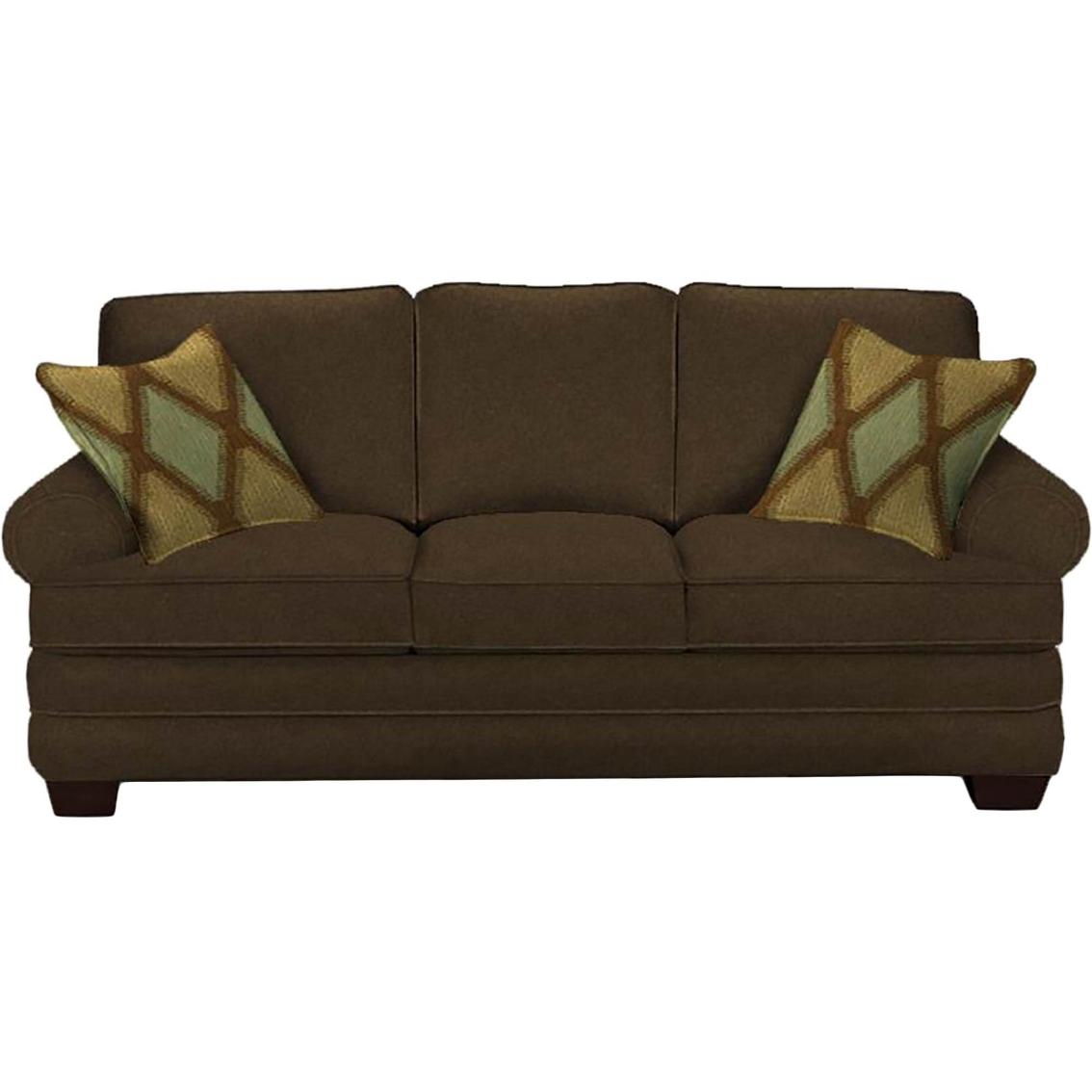 - Hgtv Home Design Studio By Bassett Sock Arm Queen Sofa Sleeper
