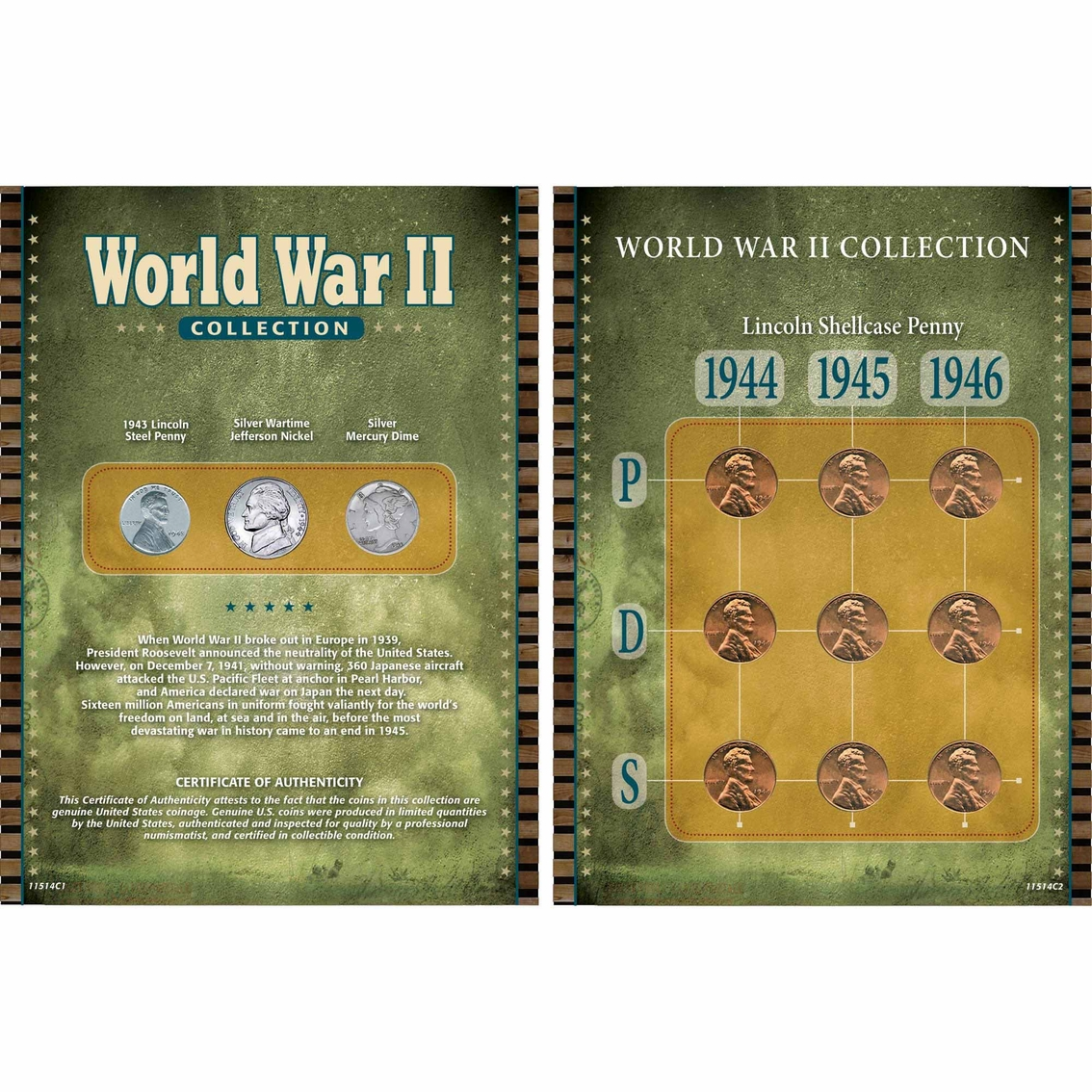 American Coin Treasures World War Ii Collection | Coins