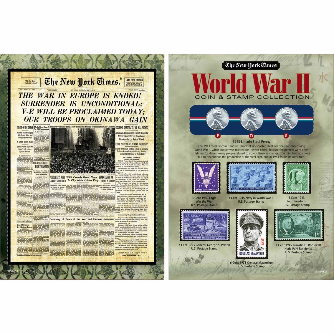 American Coin Treasures The New York Times World War Ii Coin And