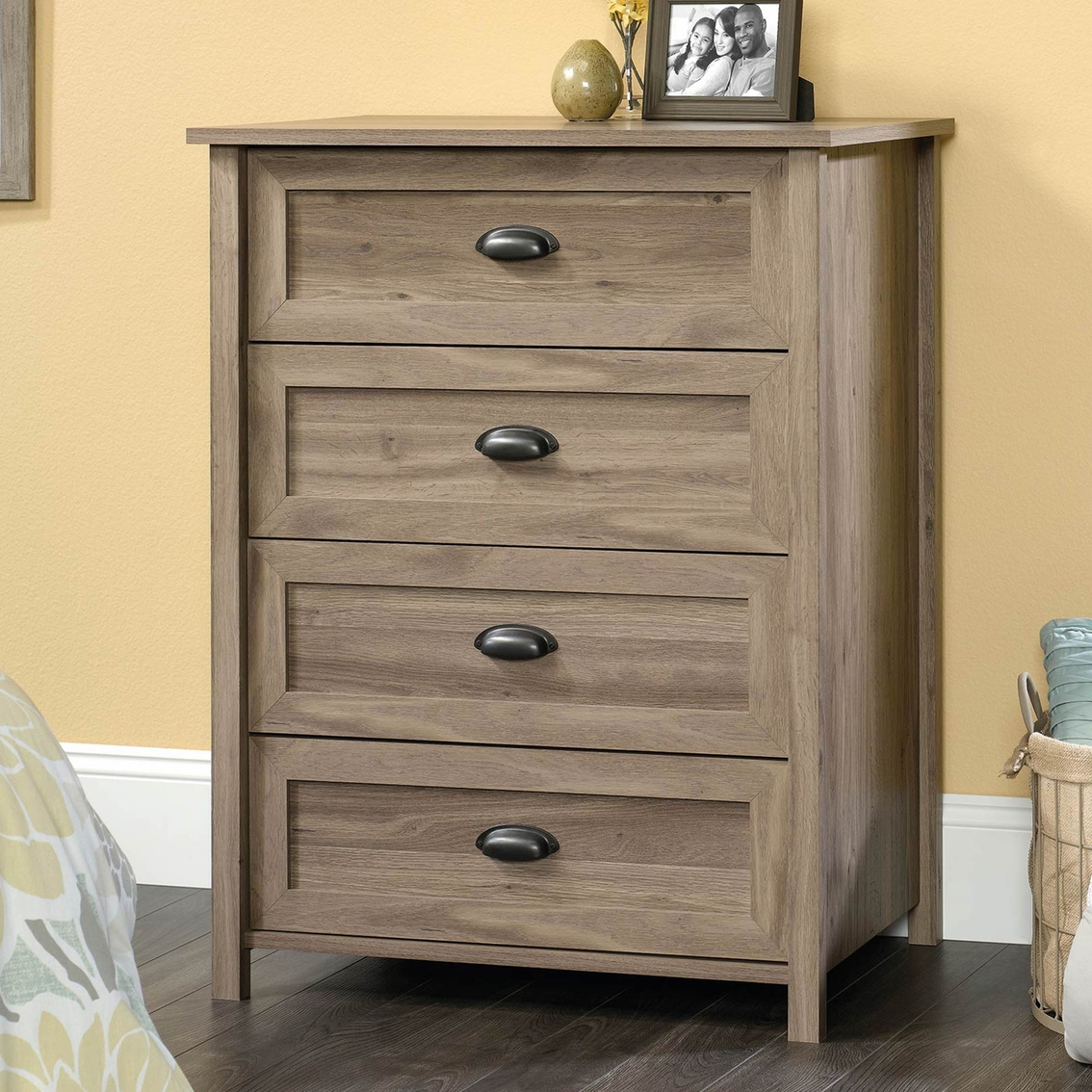 Sauder County Line 4 Drawer Chest Dressers Home