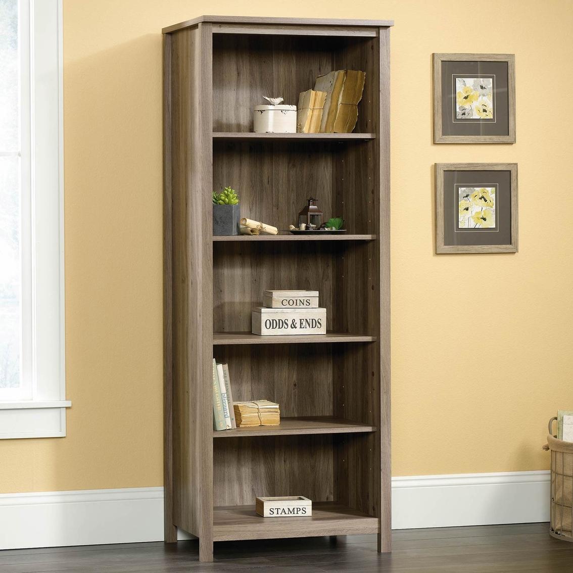 Sauder County Line Salt Oak Library Bookcases Amp Cabinets