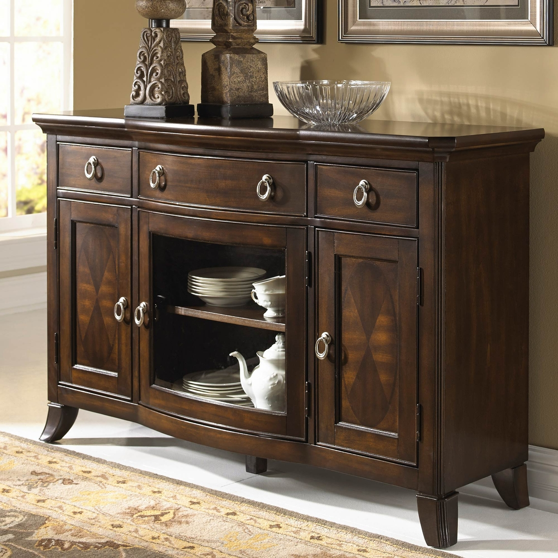 Homelegance Keegan Dining Server