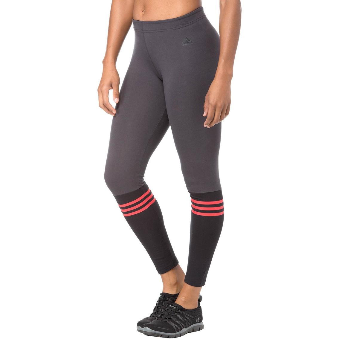 0359caec35449 Adidas 3 Stripes Crew Leggings   Pants & Capris   Apparel   Shop The ...