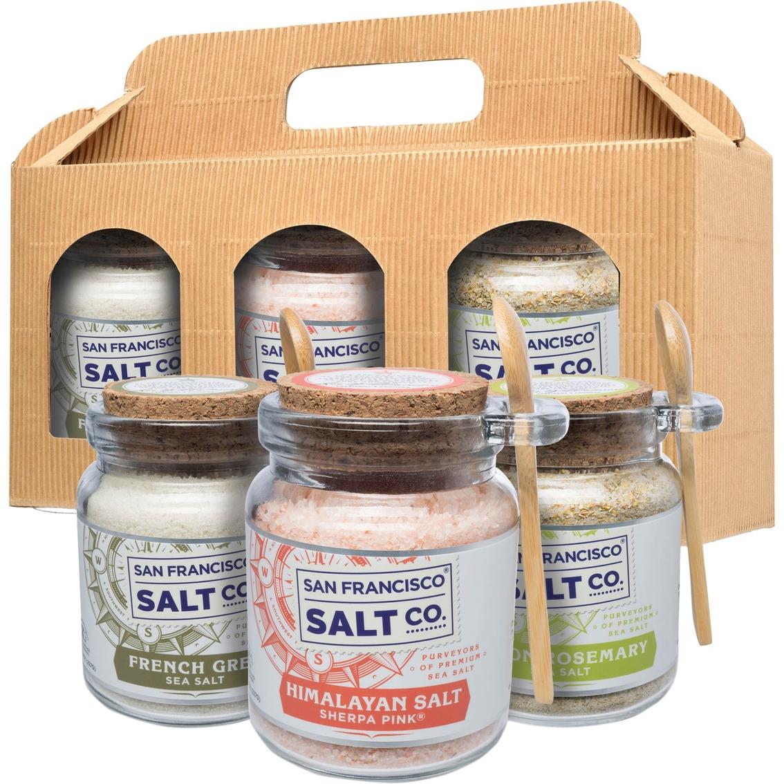 San Francisco Salt Company Gourmet Sea Salt in Chef Jars Gift 7 Pc. Set  sc 1 st  Exchange & San Francisco Salt Company Gourmet Sea Salt In Chef Jars Gift 7 Pc ...