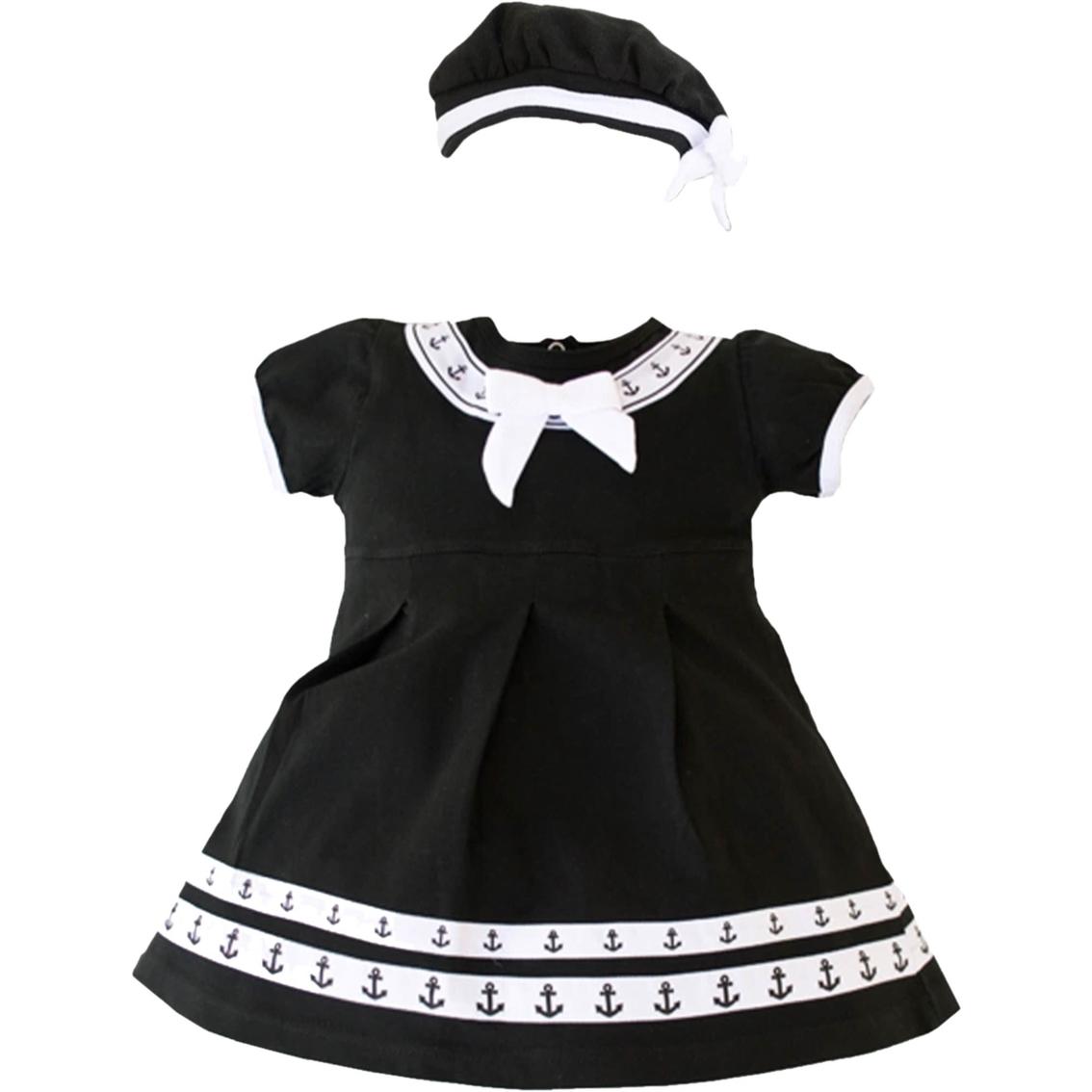 eae320642612 Trooper Clothing Infant Girls Sailor Dress With Beret