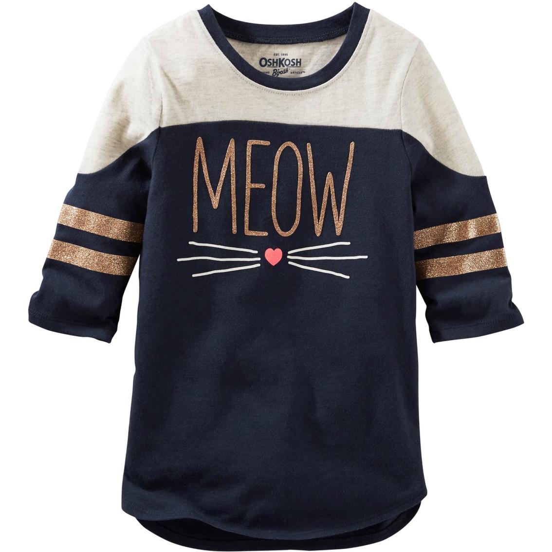 Oshkosh B\'gosh Girls Meow Tunic | Girls 7-16 | Apparel | Shop The ...