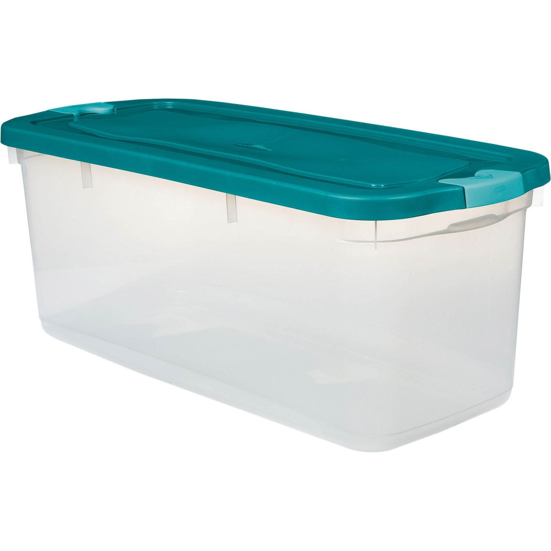 Charmant Rubbermaid Roughneck Clear 95 Qt. Clear Tote With Latching Lid
