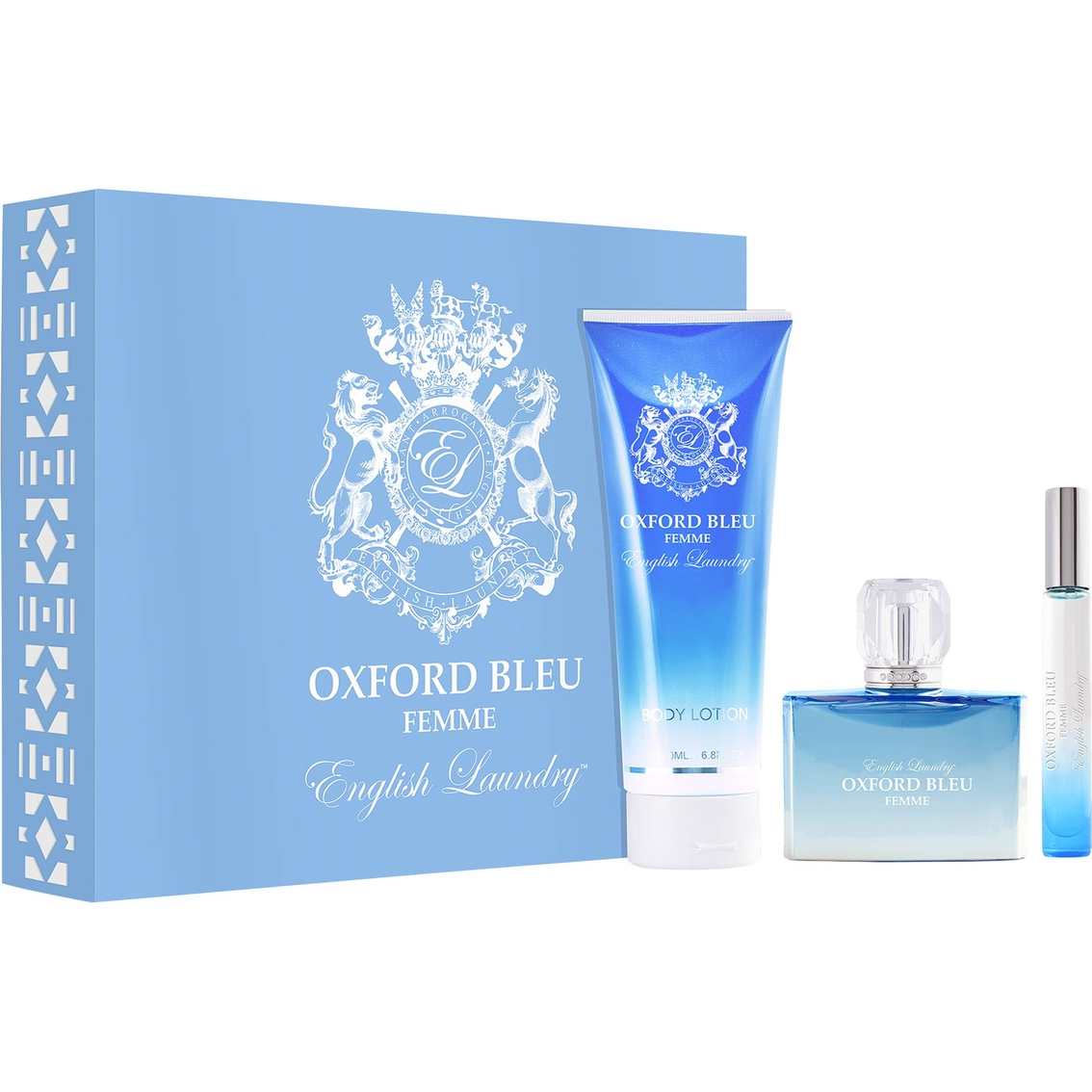 English laundry oxford bleu femme eau de parfum gift set for English laundry perfume