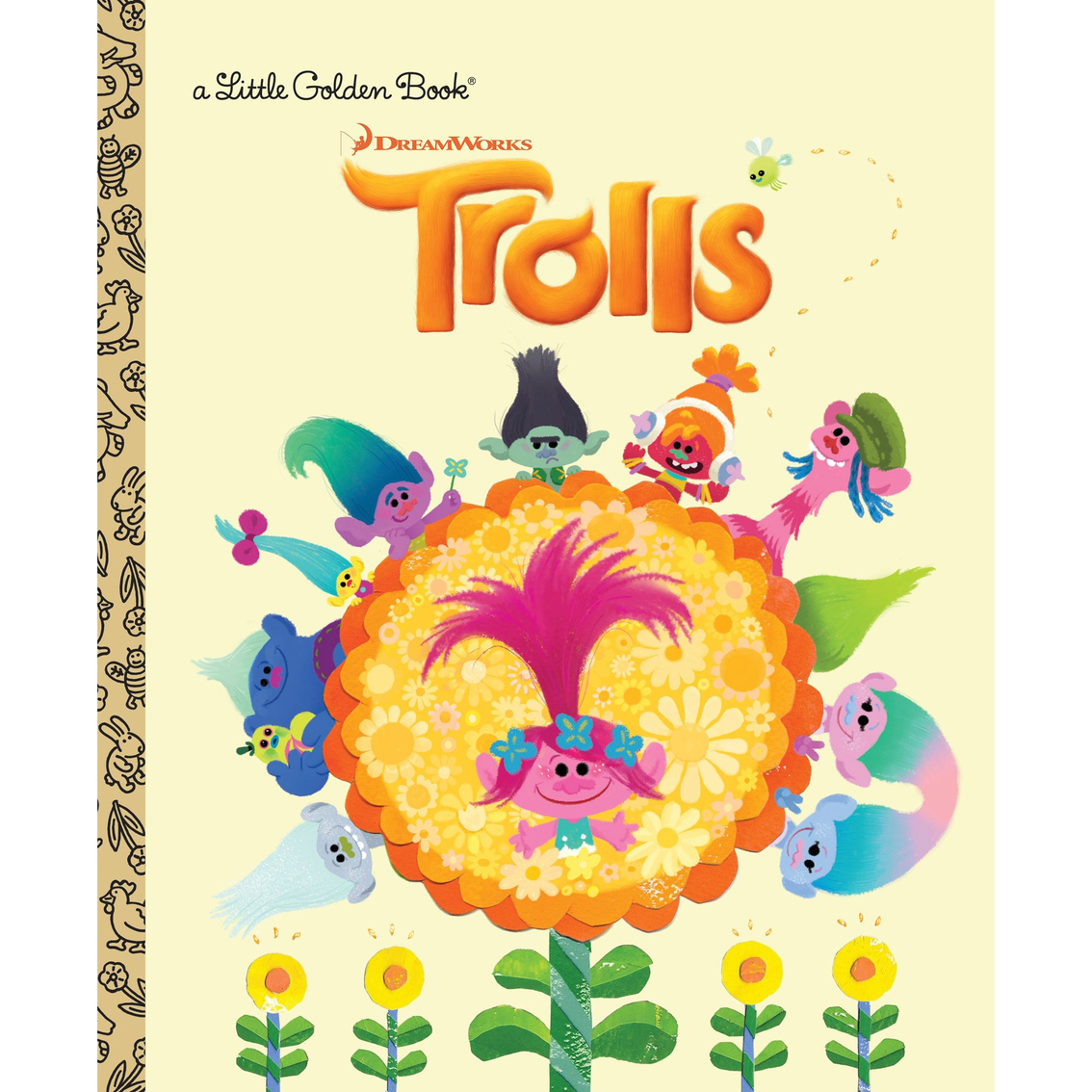 Trolls Little Golden Book (dreamworks Trolls) | Children\'s Books ...