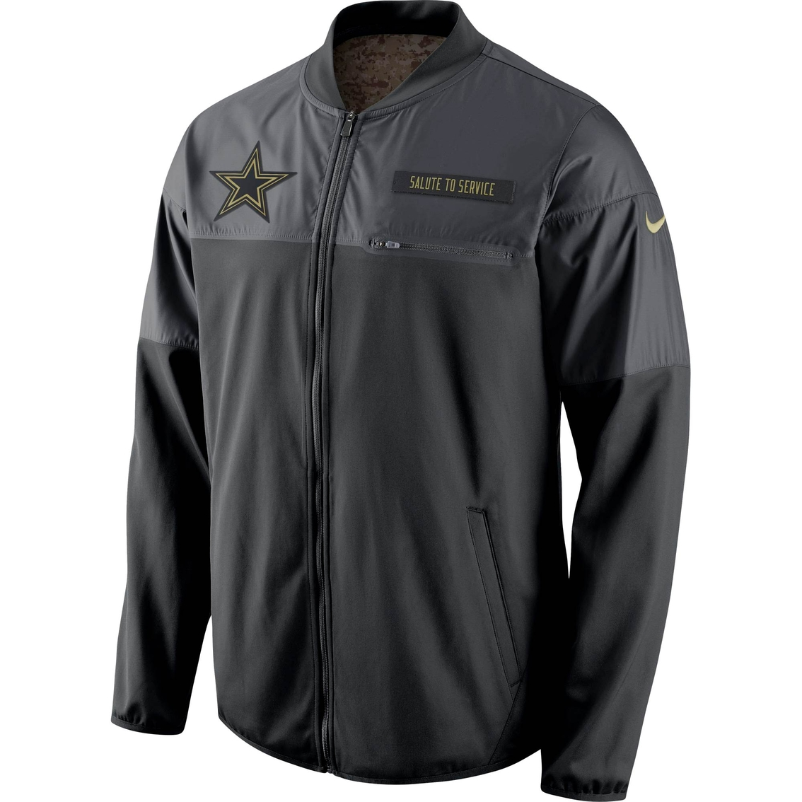 new product bb1c0 f14b7 Nike Nfl Dallas Cowboys Salute To Service Hybrid Jacket ...