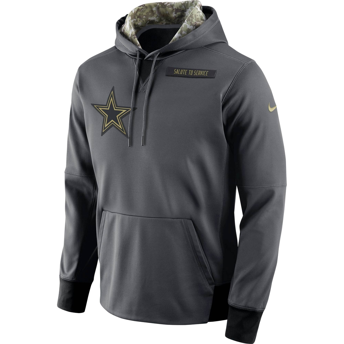 Nike Nfl Dallas Cowboys Salute To Service Fleece Pullover Jacket Nfl Sports Outdoors Shop The Exchange