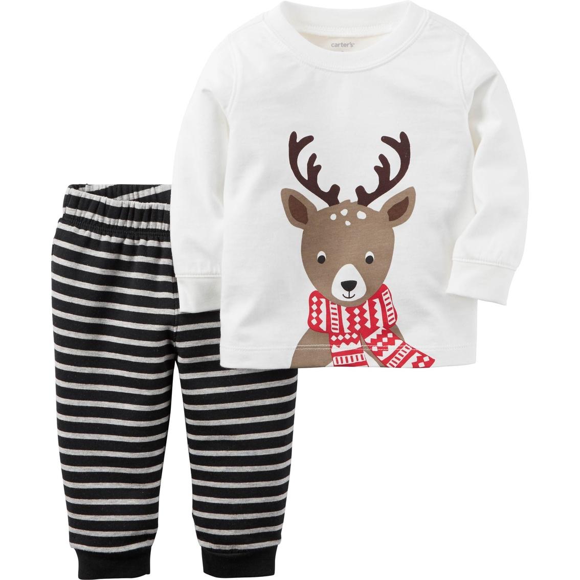 Carter\'s Infant Boys 2 Pc. Reindeer Set   Baby Boy 0-24 Months ...