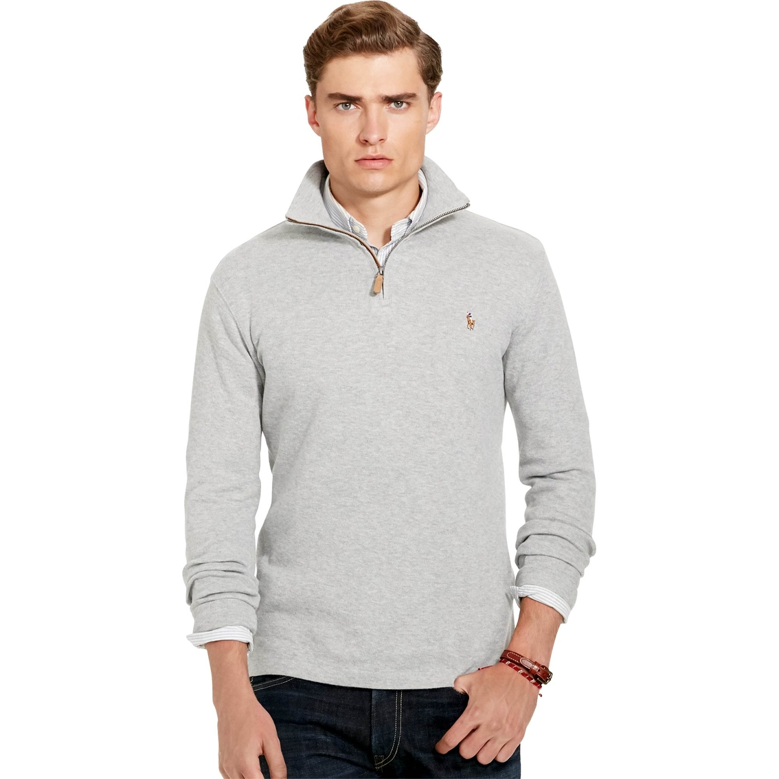polo ralph lauren ribbed cotton pullover polo ralph. Black Bedroom Furniture Sets. Home Design Ideas