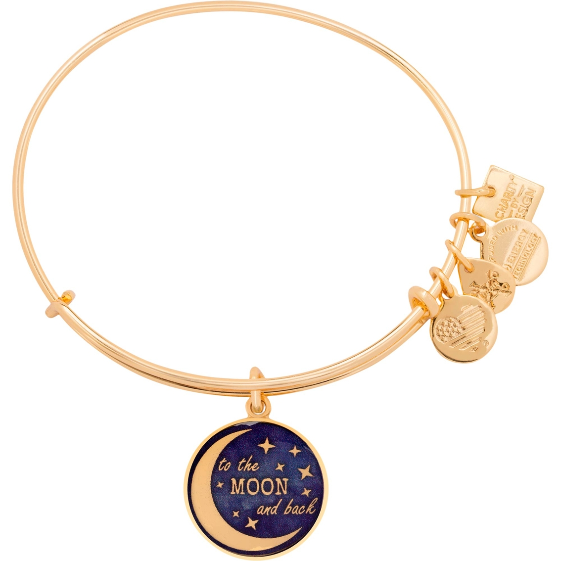 6db8eeebbde Alex And Ani Charity By Design Stellar Love Charm Bangle