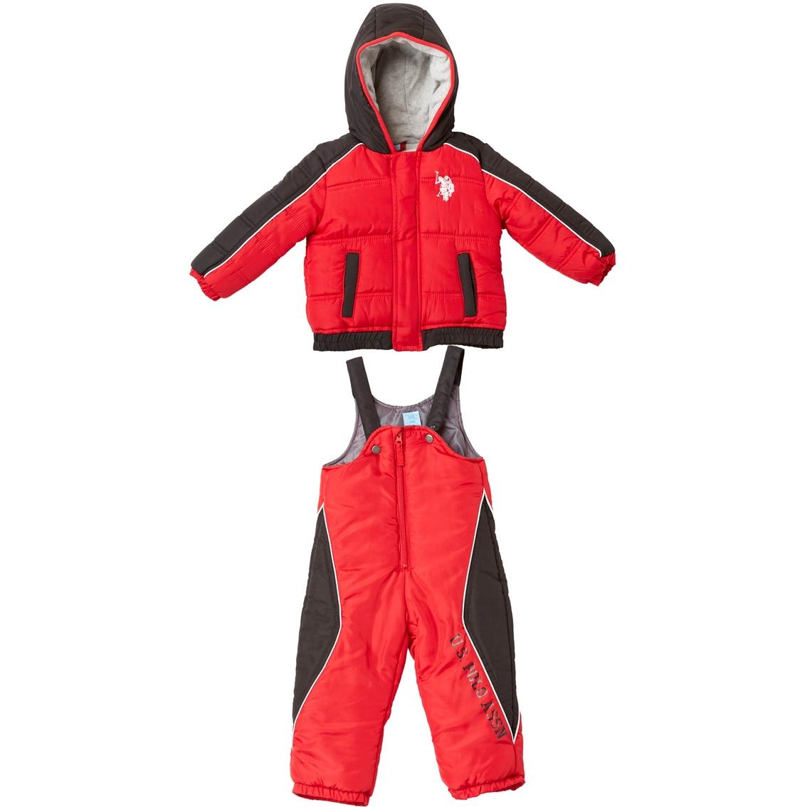 32c88524cc6a U.s. Polo Assn. Infant Boys 2 Pc. Snowsuit