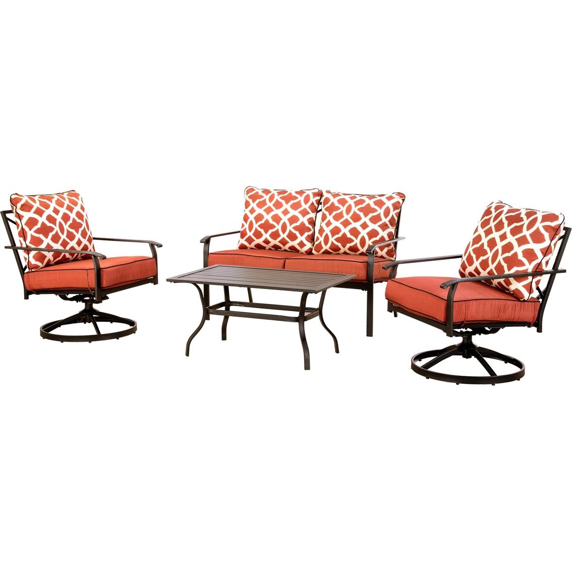 Courtyard Creations Christian 4 Pc. Cushion Sofa Set