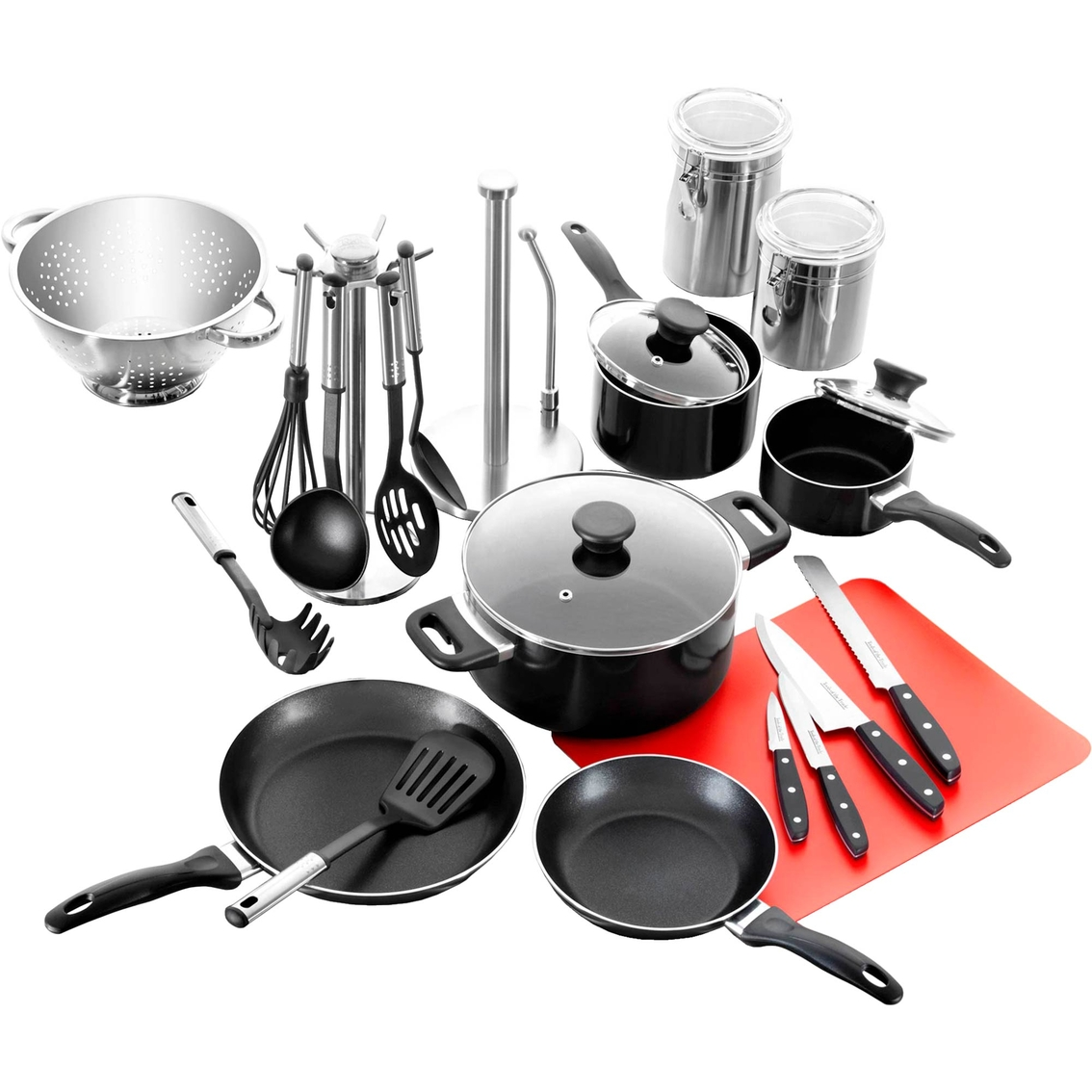 Tools Of The Trade Cookware Set 24 Pc Aluminum Home